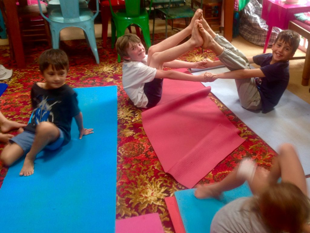 Yoga for children in Auckland New ZeaLand