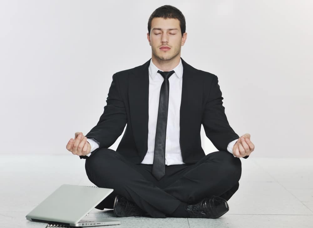 Corporate yoga and meditation